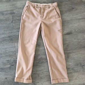 Zara Dress Pants Tan Beige Women's Size 12 (US 8)